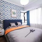 卧室现代局部两居室装修