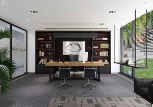二间小面积办公室装修案例,小面积现代简约办公室装修效果图