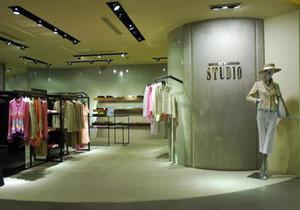 简约欧式服装店装修效果图,欧式小服装店装修效果图