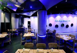 成都海鲜餐厅装修效果图,500平方米海鲜餐厅装修效果图