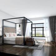 卧室北欧局部90平米装修