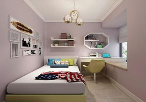 8平米正方形小卧室装修图,8平米小卧室欧式装修图