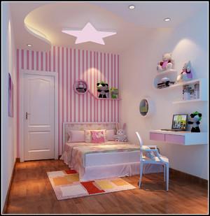 儿童榻榻米小卧室效果图大全,儿童粉色榻榻米卧室效果图大全