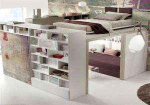 10平米卧室两个床装修效果图大全集,10平米小卧室衣柜装修效果图大全