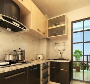 4平方做厨房装修效果图,4平方形厨房装修效果图