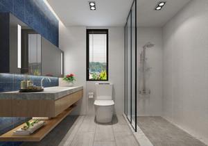 现代简约小面积卫生间装修效果图大全,现代简约主卫生间装修效果图大全