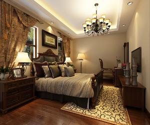 美式风格卧室装修效果图,2019美式风格装修案例欣赏