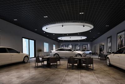 汽车展厅设计布局图,汽车展厅装修设计效果图