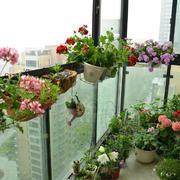阳台现代局部90平米装修