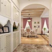 客厅现代鞋柜90平米装修