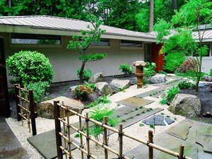 40平小院���景案例,40平米小庭院�O���景�D