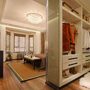 卧室现代局部90平米装修
