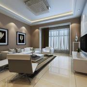 客厅现代局部80平米装修
