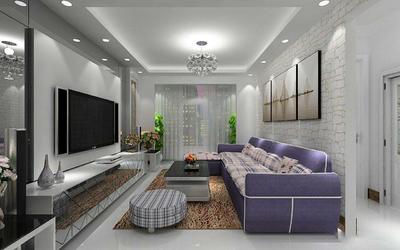 90平米简约装修效果图,90平米三室一厅装修效果图
