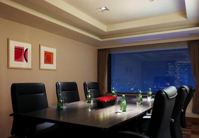 小型简易会议室装修效果图大全,小型会议室装修背景墙效果图大全