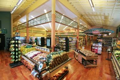 超市简易吊顶装修效果图,超市门厅吊顶装修效果图