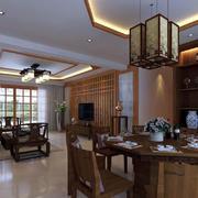 餐厅现代局部90平米装修