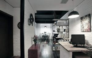 时尚小办公室装修效果图,成都美式办公室装修效果图欣赏