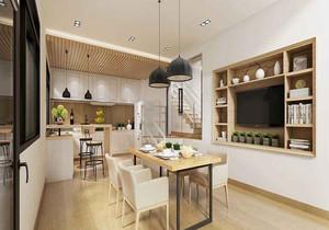 北欧开放式小厨房装修效果图,开放式的小厨房装修效果图