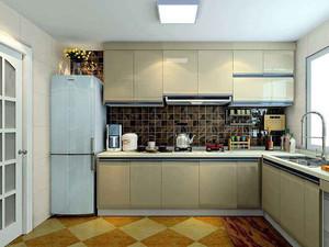 厨房油烟机吊柜装修效果图,厨房油烟机吊顶装修效果图