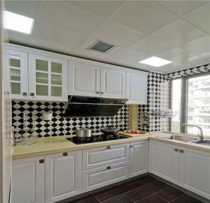 4平米l型的厨房装修效果图,4平米厨房面积装修效果图