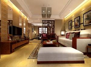 100平米房屋中式装修效果图,100平米房屋精装装修效果图
