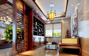 100平米房子中式装修样板房,徐州100平米装修样板房