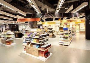 超市裝修設計效果圖,50平米超市裝修效果圖