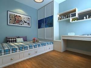 小户型儿童榻榻米卧室装修效果图大全,儿童10平米小卧室榻榻米效果图大全