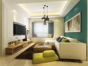 三居室简约装修效果图,三居室现代简约装修效果图