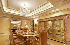 别墅进门餐厅设计效果图,别墅进门餐厅设计效果图大全