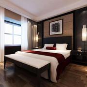 卧室中式局部100平米装修