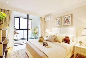 带阳台的5平米卧室装修效果图2019,5平米小卧室简约装修效果图