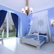 卧室地中海局部90平米装修