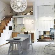 卧室现代楼梯小户型装修