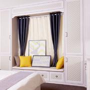 卧室现代飘窗小户型装修