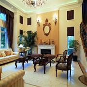 客厅美式家具两居室装修