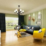 客厅现代门窗100平米装修