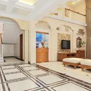 客厅现代地面90平米装修