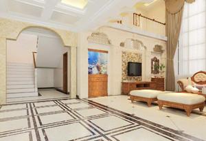 别墅客厅装修实景图大全,客厅地砖装修实景图大全