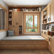 卧室北欧榻榻米90平米装修