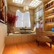 书房现代榻榻米100平米装修