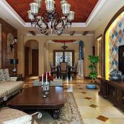 客厅现代家具90平米装修