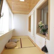 阳台现代榻榻米90平米装修