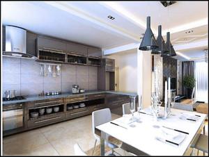 70小户型大空间装修效果图,70小户型开放式厨房装修效果图