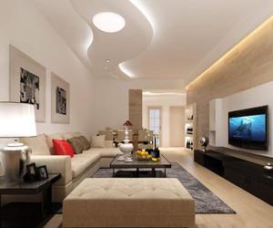 家居客厅吊顶装修效果图,家庭装修客厅吊顶效果图
