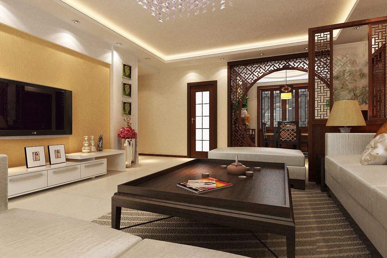 罗马柱客厅装修效果图,客厅罗马柱背景装修效果图图片