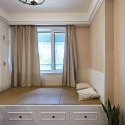 卧室韩式榻榻米90平米装修
