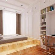 客厅现代榻榻米90平米装修