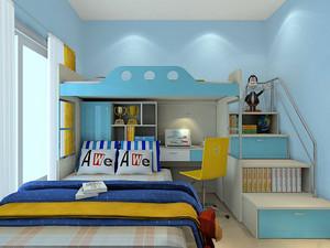 儿童卧室榻榻米上下铺装修效果图,小卧室儿童榻榻米装修效果图